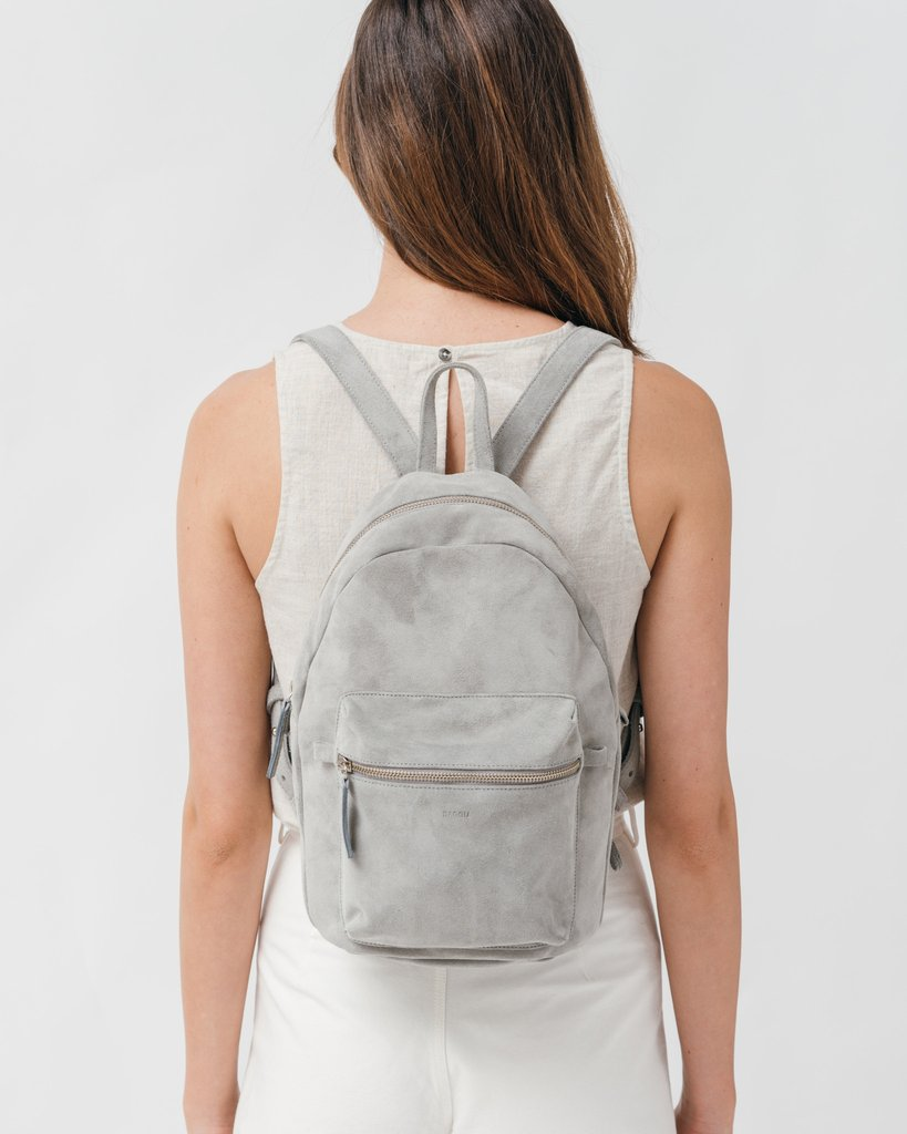 Leather Backpack by Baggu