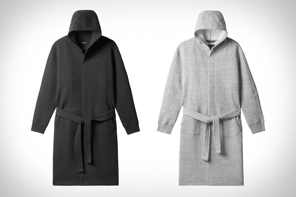 Cabin Fleece Robe by Wings + Horns