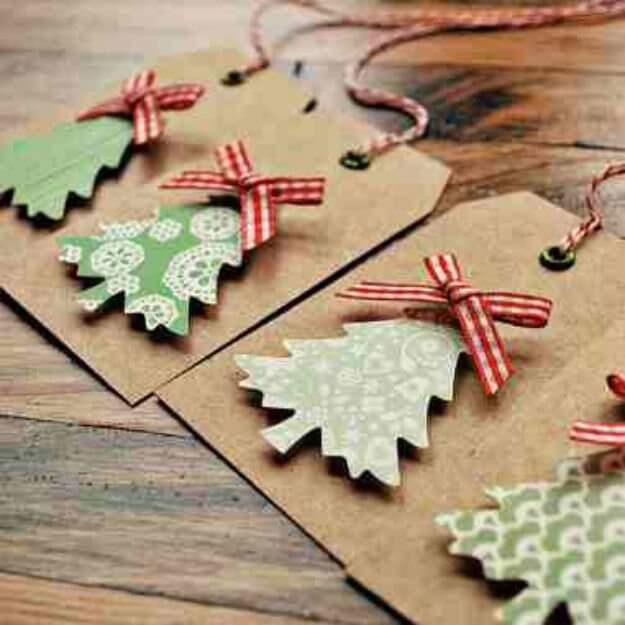 Lovely DIY Christmas Gift Tags