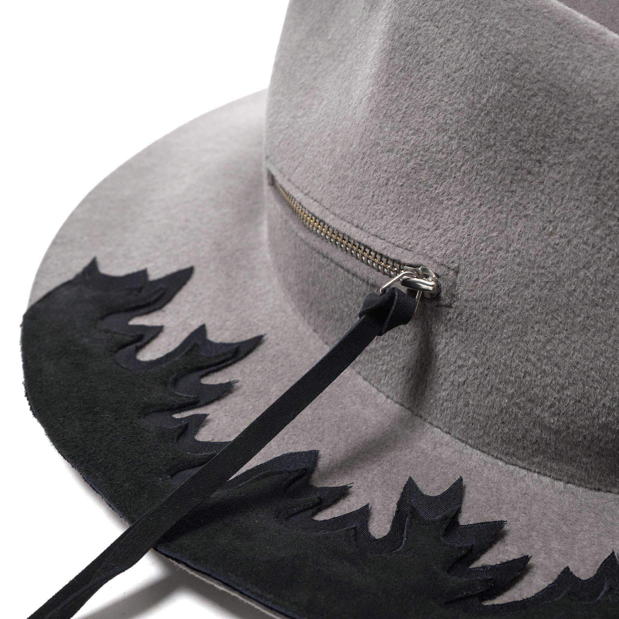Fire Pit Hat by Larose & Bed J.W. Ford