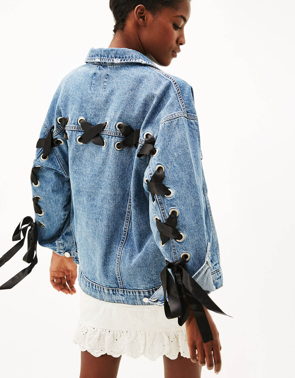 Denim jacket by Bershka