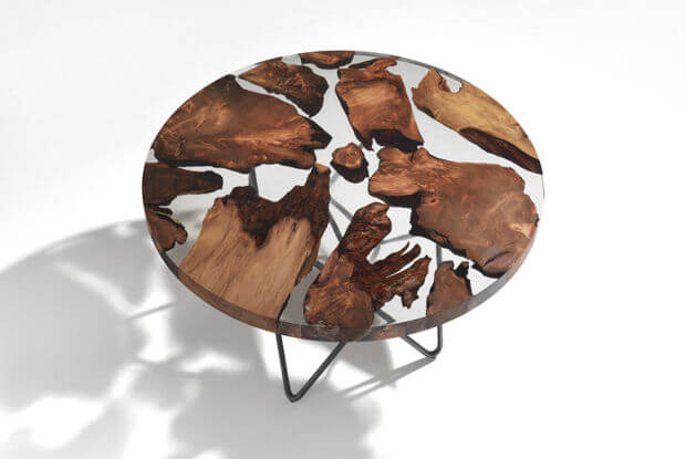 Earth table by RIVA 1920