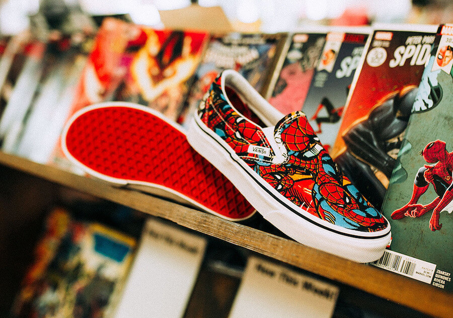 4c8ed30dd5e Vans and Marvel are celebrating the success of the Avengers - Design ...