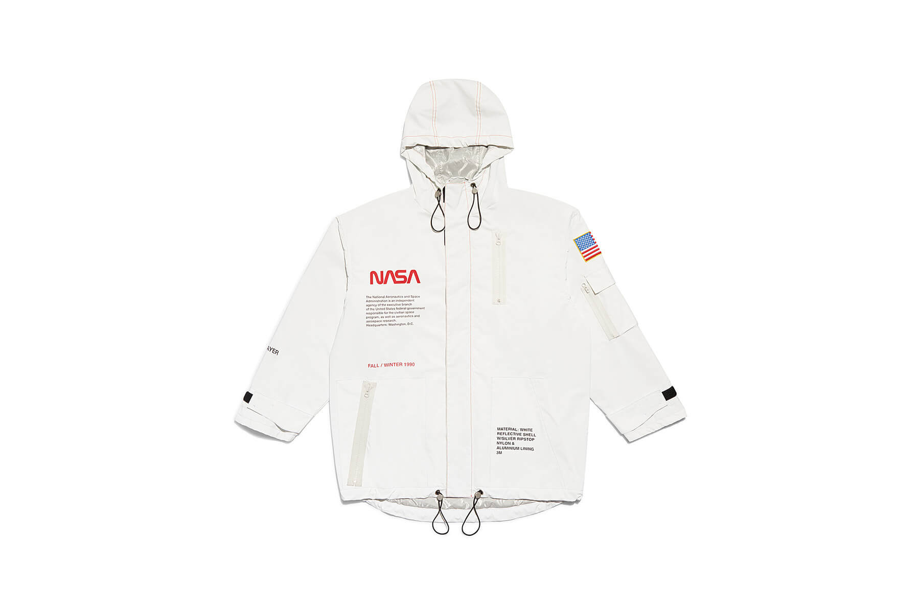 Heron Preston x NASA capsule collection