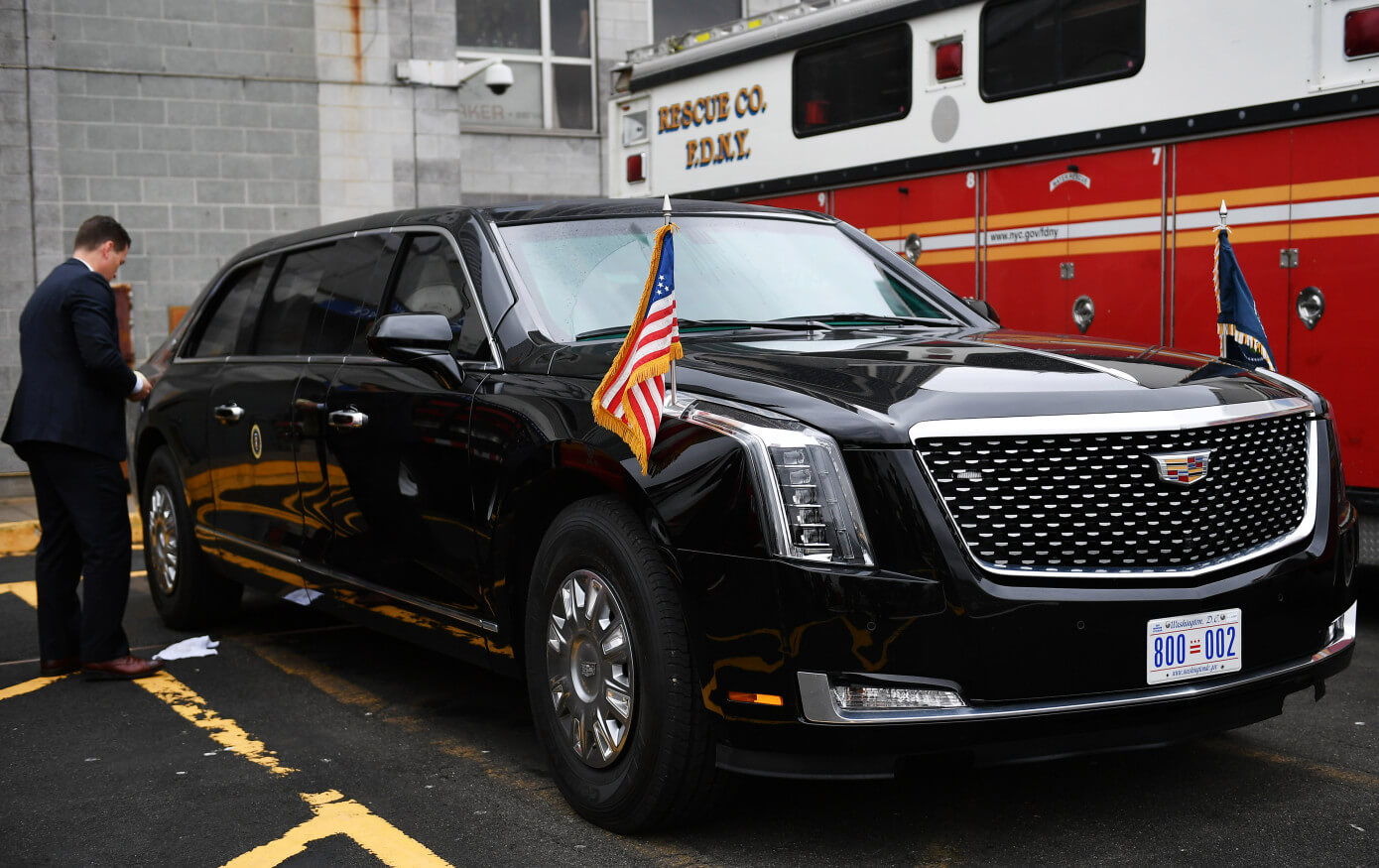 Donald Trump's new presidential limo is The Beast