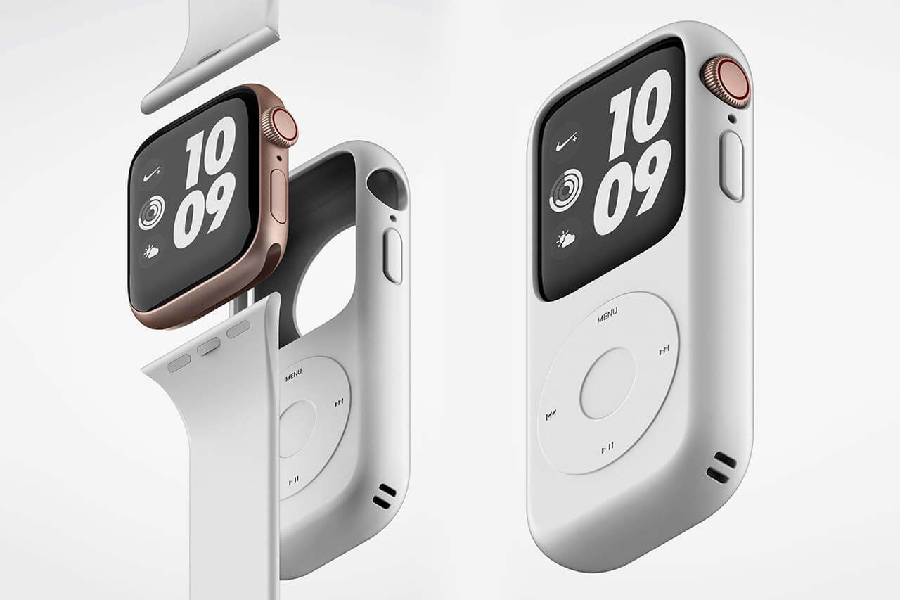 Apple watch iPod case by Yeonsoo Kang