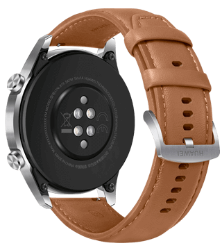 Back of the Huawei watch GT2